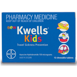 Kwells Kids 12 chewable tablets