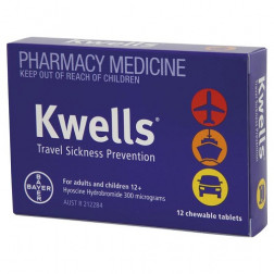 Kwells Travel Sick Tab 12