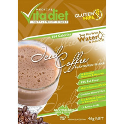 Medical Vita Diet Iced Coffee Shake x 14