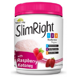Nature's Way SlimRight Accelerator Strawberry - Raspberry Ketones Shake 375g