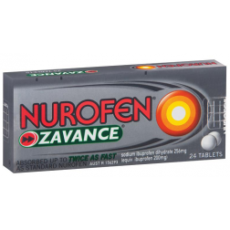 Nurofen Zavance Tablets x 24