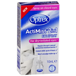 Optrex Actimist Eye Spray For Dry & Irritated Eyes 10mL
