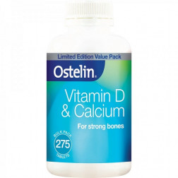 Ostelin Vitamin D & Calcium 275 Tablets Limited Edition Value Pack