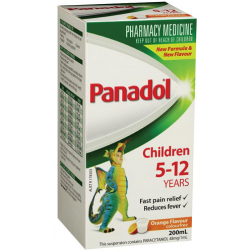 Panadol Children 5-12 Years Orange 200mL