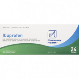 Pharmacy Health Ibuprofen 96 Tabs
