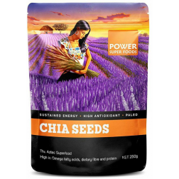 Power Super Foods Chia Power Black And White Seeds 250g