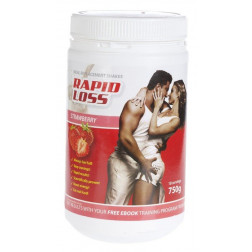 Rapid Loss Shake Strawberry 750g
