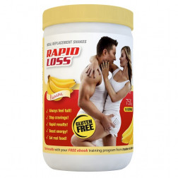 Rapid Loss Shake Banana 750g