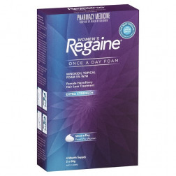 Regaine Women Extra Strength Foam 4 months supply (2x60g)