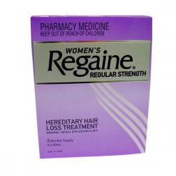 Regaine ( Rogaine ) Women 2% 60ML X 3 Months Supply