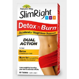 Nature's Way Slimright Detox and Burn 60Tabs