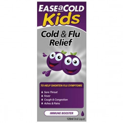 Ease A Cold Kids Cough Cold & Flu Liquid 120mL