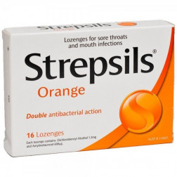 Strepsils Soothing Orange x16