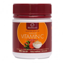 LifeStream Natural Vitamin C 90 Caps