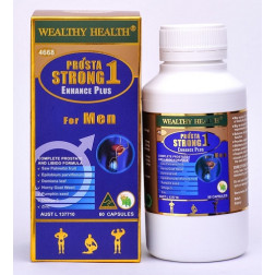 Wealthy Health Prosta Strong 1 Enhance Plus - 60 Capsules