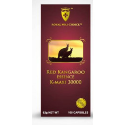 Wealthy Health Red Kangaroo Essence K- Maxi 30000  - 100 Capsules