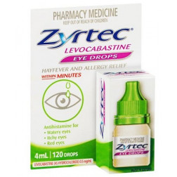 Zyrtec Hayfever & Allergy Eyedrops 4ML