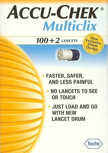 Image of Accu-Chek Multiclix 100+2 lancets
