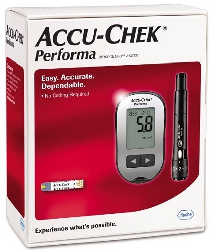 Image of Accu-Chek Performa Blood Glucose Meter Kit