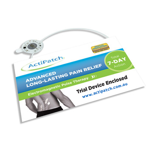 Image of ActiPatch Electromagnetic Pulse Therapy 7 Day Trial Pack