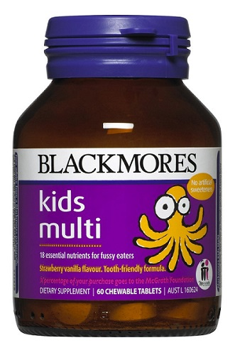 Blackmores Kids Multi x 60 Chewable tablets 2356