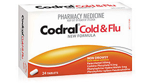 Codral Cold And Flu PE Day Time Tablets x 48 6579