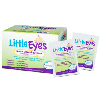 Little Eyes Gentle Cleansing Wipes 30
