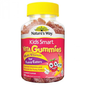 Nature's Way Kids Smart VitaGummies Mutli-Vitamin for Fussy Eaters 60 pastilles