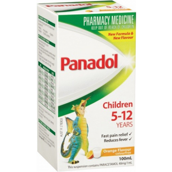 Panadol Children 5-12 Years Orange 100mL