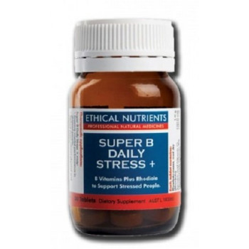 Ethical Nutrients Super Stress B Daily Stress+ Plus Rhodiola 30caps
