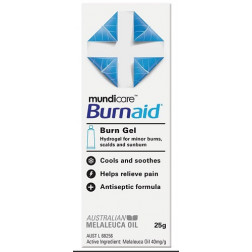 Mundicare Burnaid Burn Gel 25g