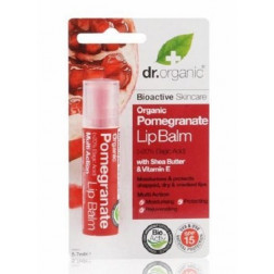 Dr. Organic Pomegranate Lip Balm 5.7ml