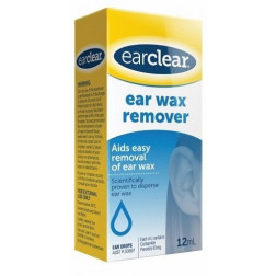 Ear Clear For Wax Removal 12 Ml