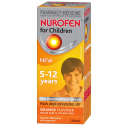 Nurofen Children 5-12 years Orange Flavour 100ml
