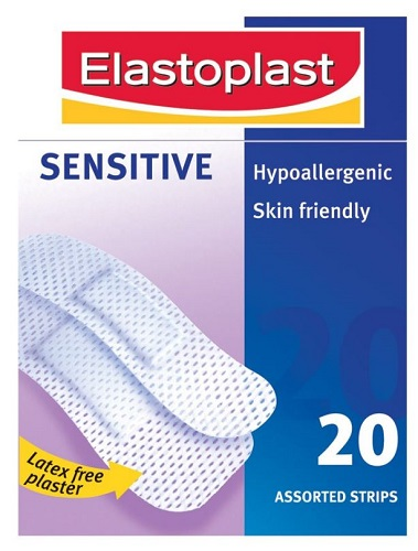 Elastoplast Sensitive 20 Assorted Strips 1294
