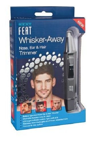 Neat Feat Whisker-Away Nose, Ear & Hair Trimmer 14240