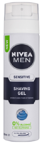 Nivea Men Sensitive Shaving Gel 200mL 14486